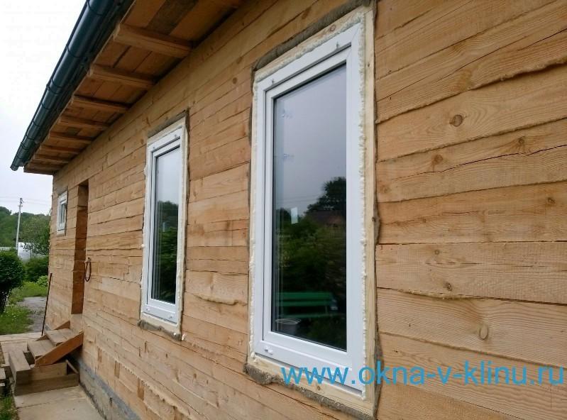 Окна в доме из бруса своими руками 257
